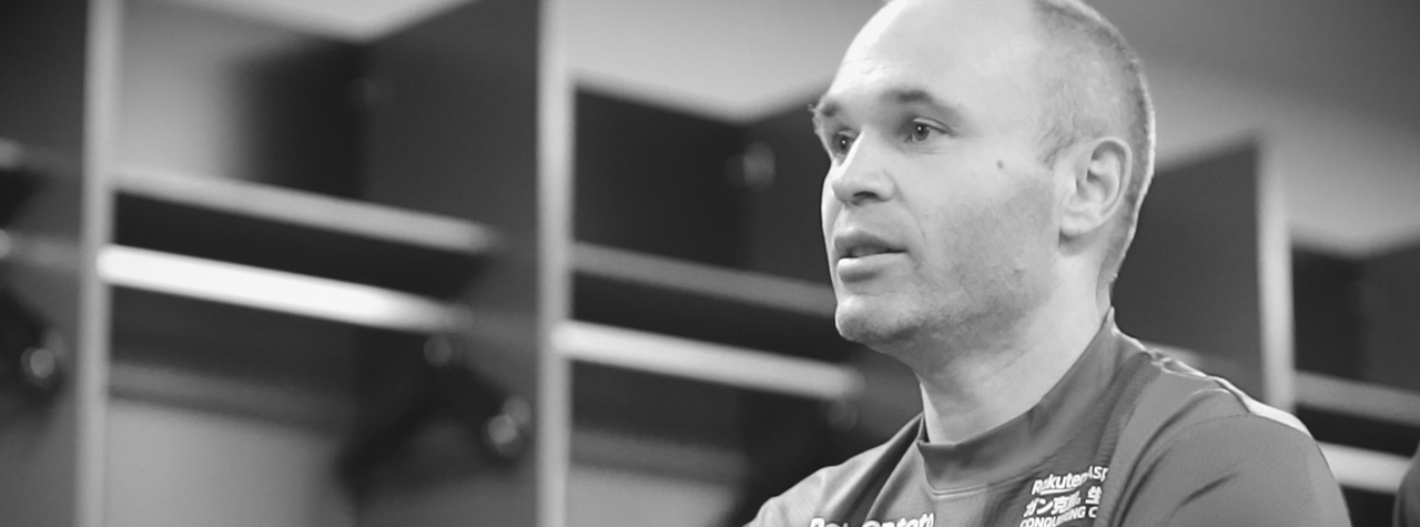 Iniesta interviews header