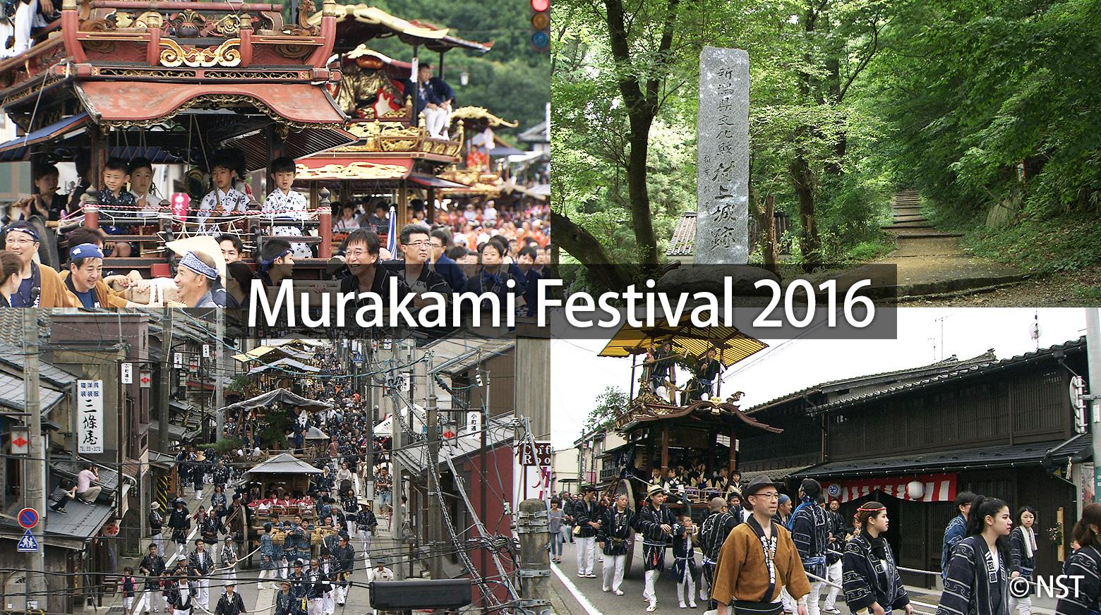 Murakami Grand Festival 2016: Tradition Passed Down