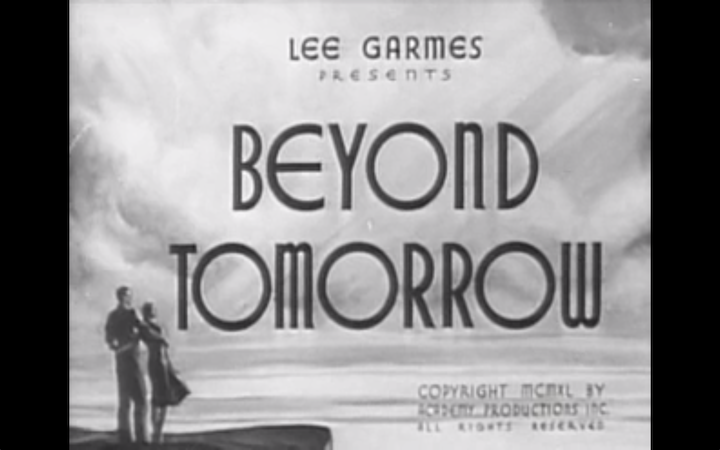 Beyond Tomorrow