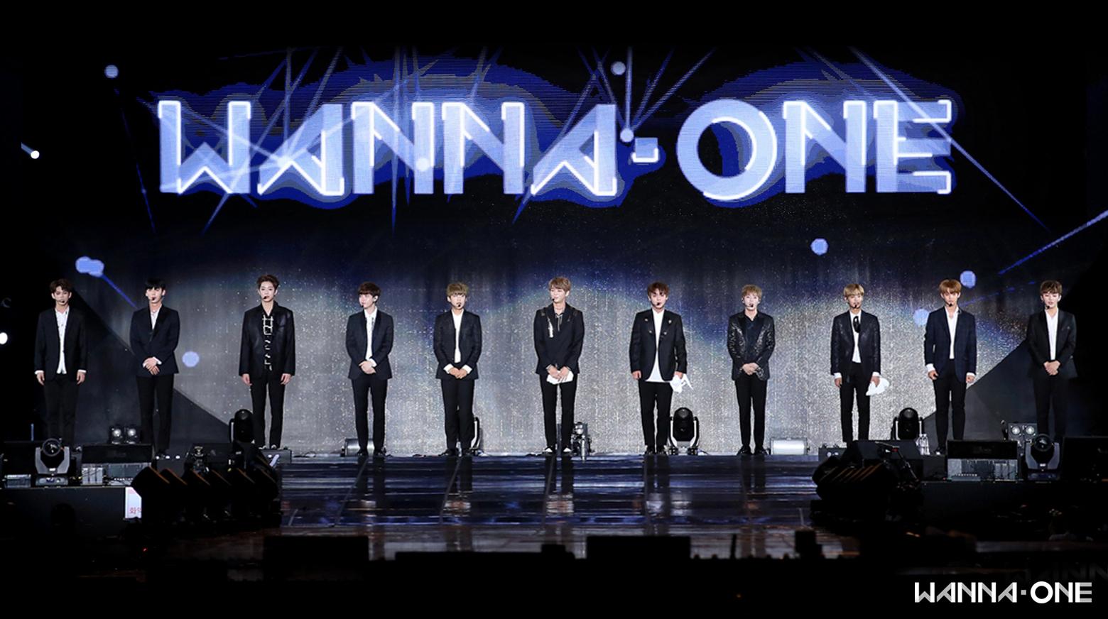 Le Premier Show-con du groupe Wanna One