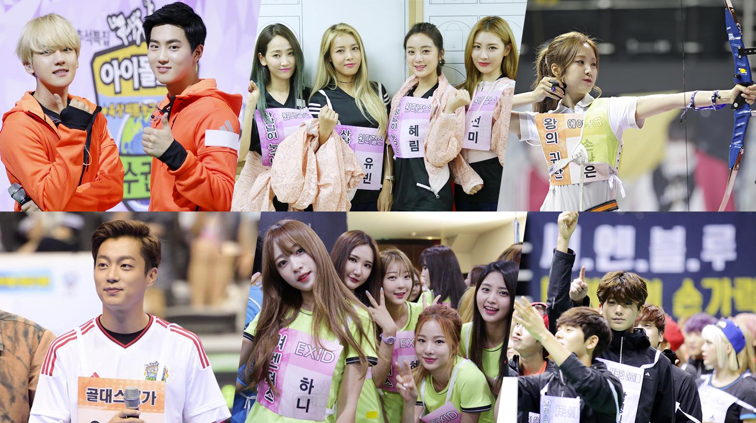 2015 Idol Star Athletics Championships - Chuseok Special