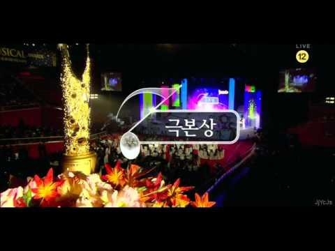 111114 JYJ Junsu Korea Musical Awards (Part 1): JYJ (Jaejoong, Yoochun, Junsu)
