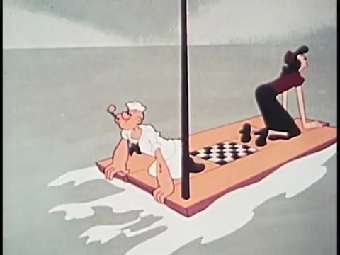 Popeye the Sailor Episode 2: Spooky Swabs
