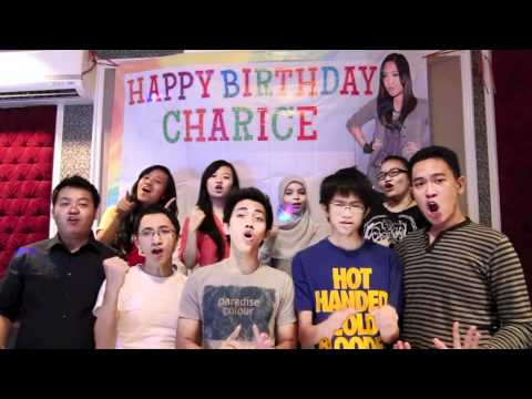 Birthday wishes from Chasters: Charice