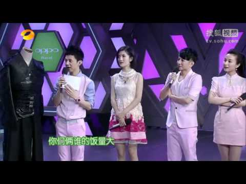 XYS casts on Happy Camp - June 30, 2012: Xuan Yuan Sword 3 Legend - Rift of the Sky