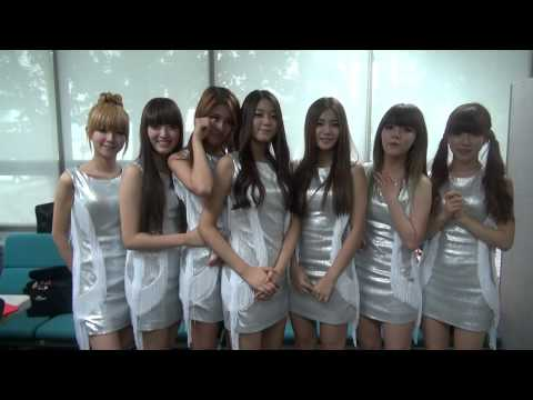 Greeting message ELVIS Ending: AOA (Ace Of Angels)