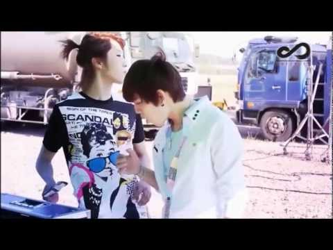 Behind the scenes - The Chaser MV: INFINITE