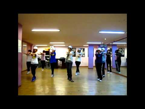I'm Relly Hurt Dance Practice: T-ara