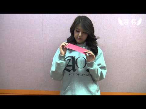 """AOA """"Love Letter"""" Event! HyeJeong: AOA (Ace Of Angels)"""