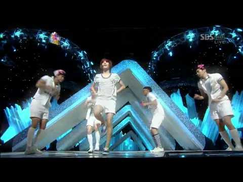 Shinee key: Key and Taemin dressed as girls on Genie
