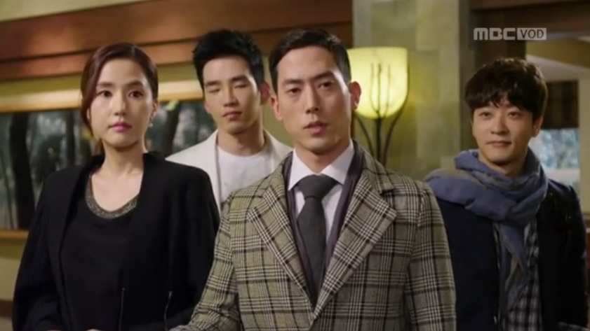 4 Mysterious Guests Check In: Hotel King