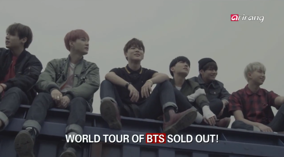 World Tour of BTS Sold Out!