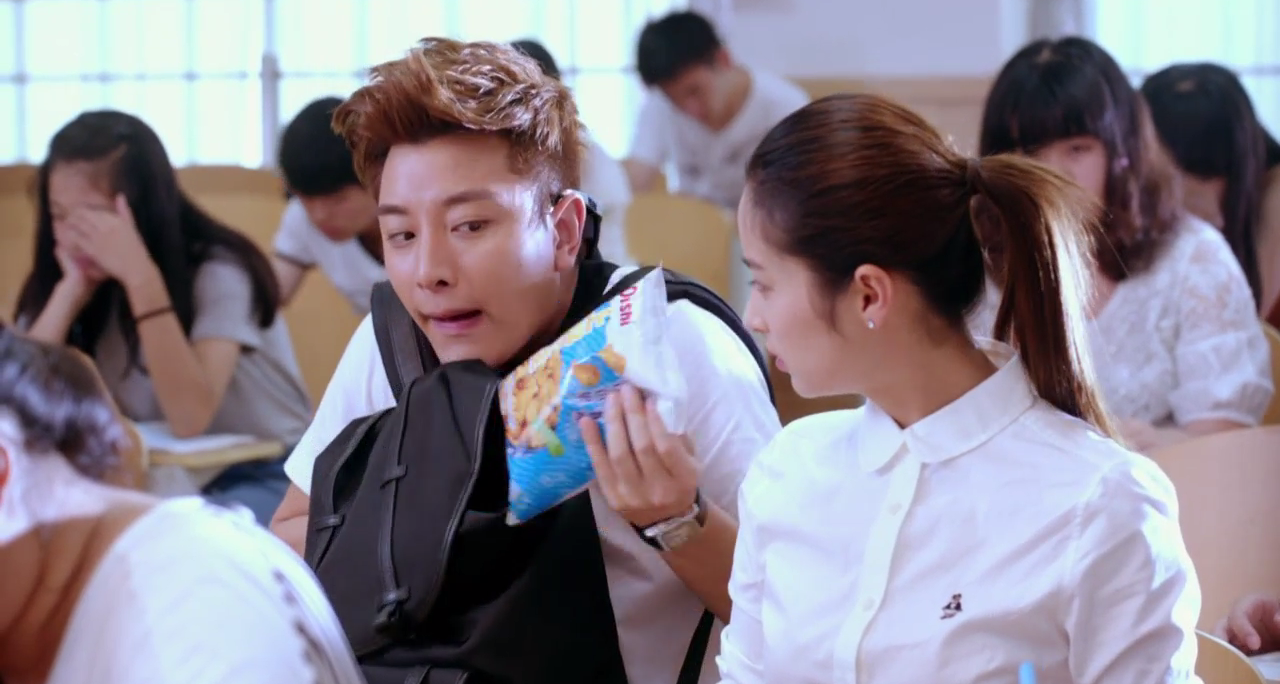 Jiang Yan and Xia Bing in Class