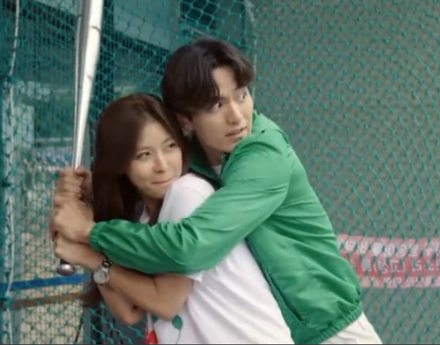 Won Teaches Ha Na How to Swing a Baseball Bat: The Time I've Loved You