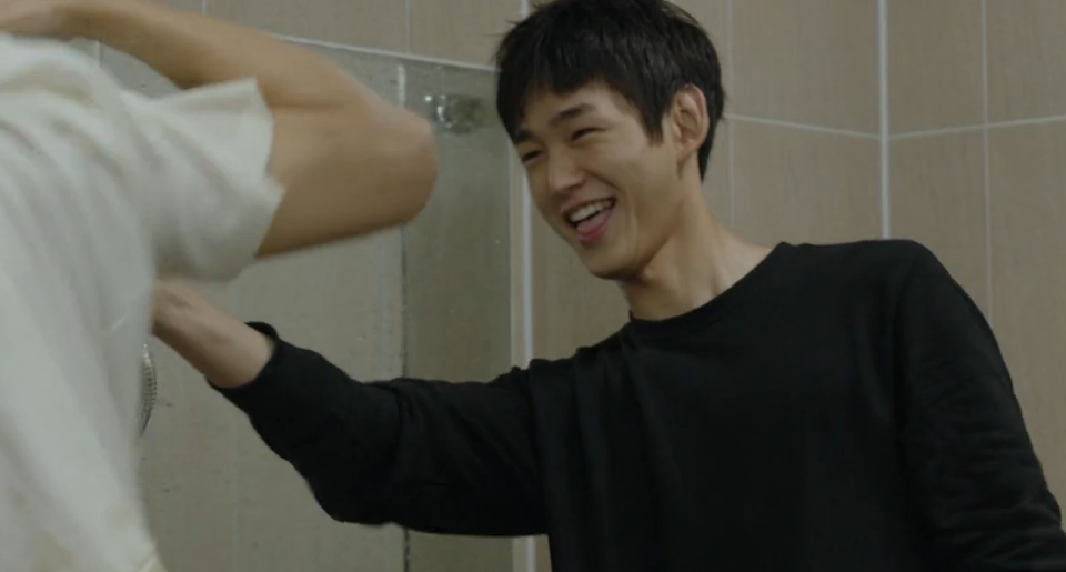 Playful Shower Scene by Won Geun & Ji Soo: Sassy Go Go