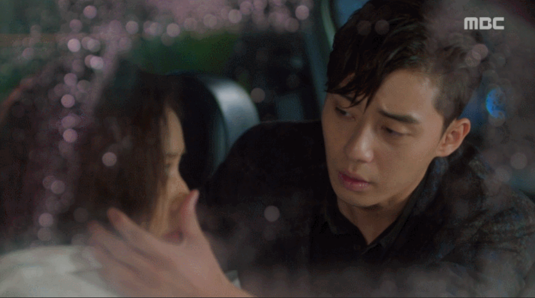 Awkward Moments of Seo Joon & Jung Eum in the Car: Elle était jolie