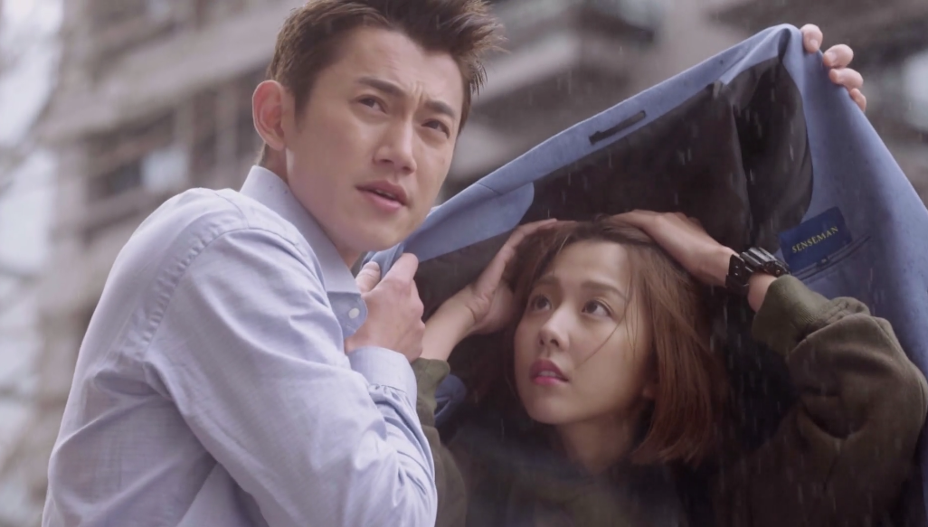 Chris Wu acts as Ivy Shao's umbrella: The Perfect Match