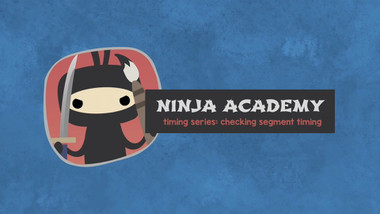 Ninja Segging & Subbing Academy Episode 5: Checking Segment Timing