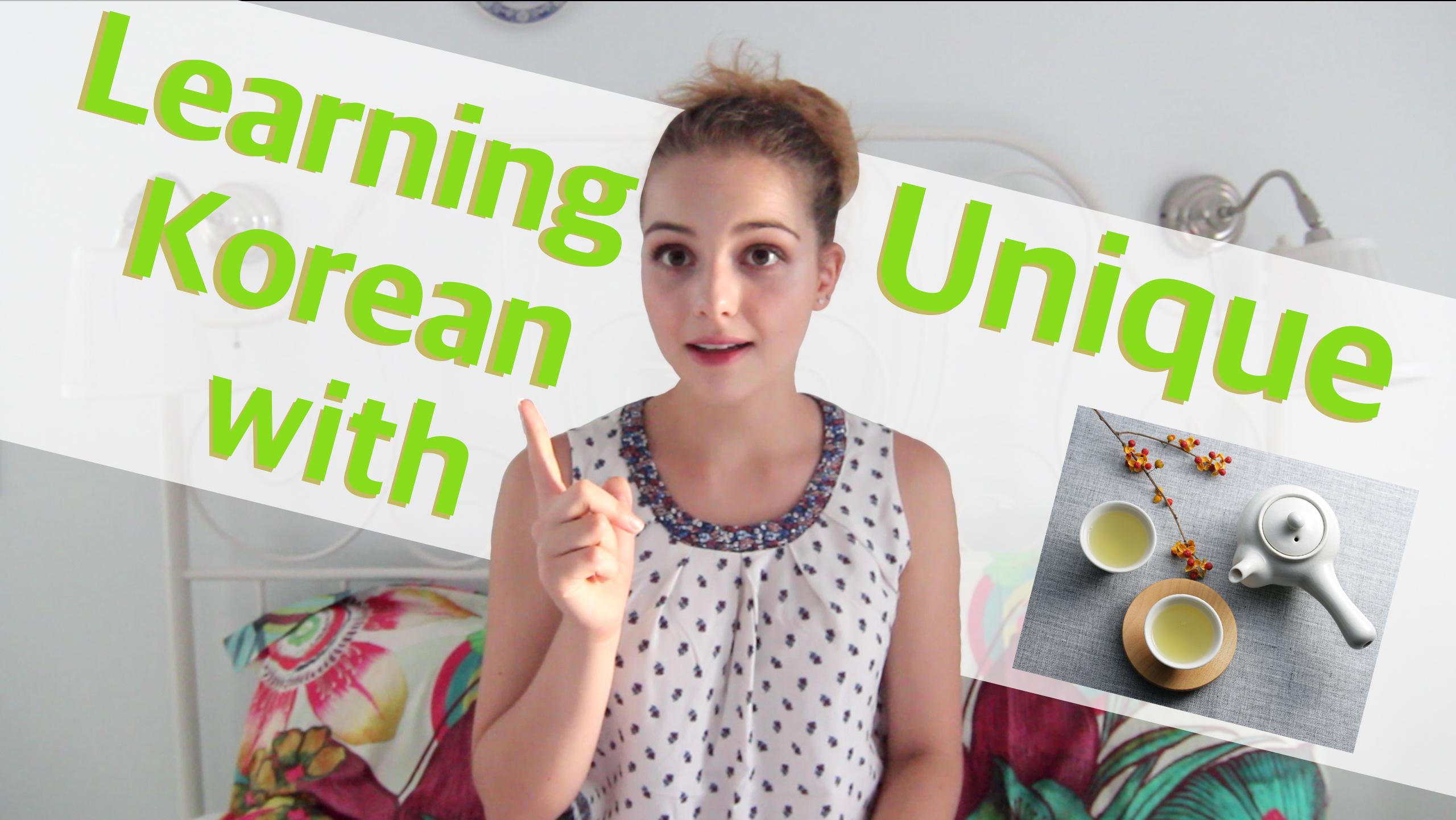 Margarita Mondays Episode 6: Learning Korean with Unique Korean Teas