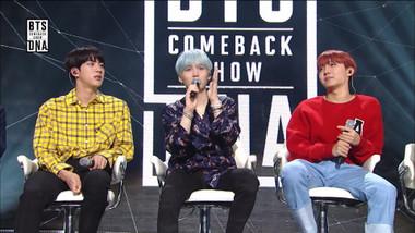 BTS Comeback Show Episode 1