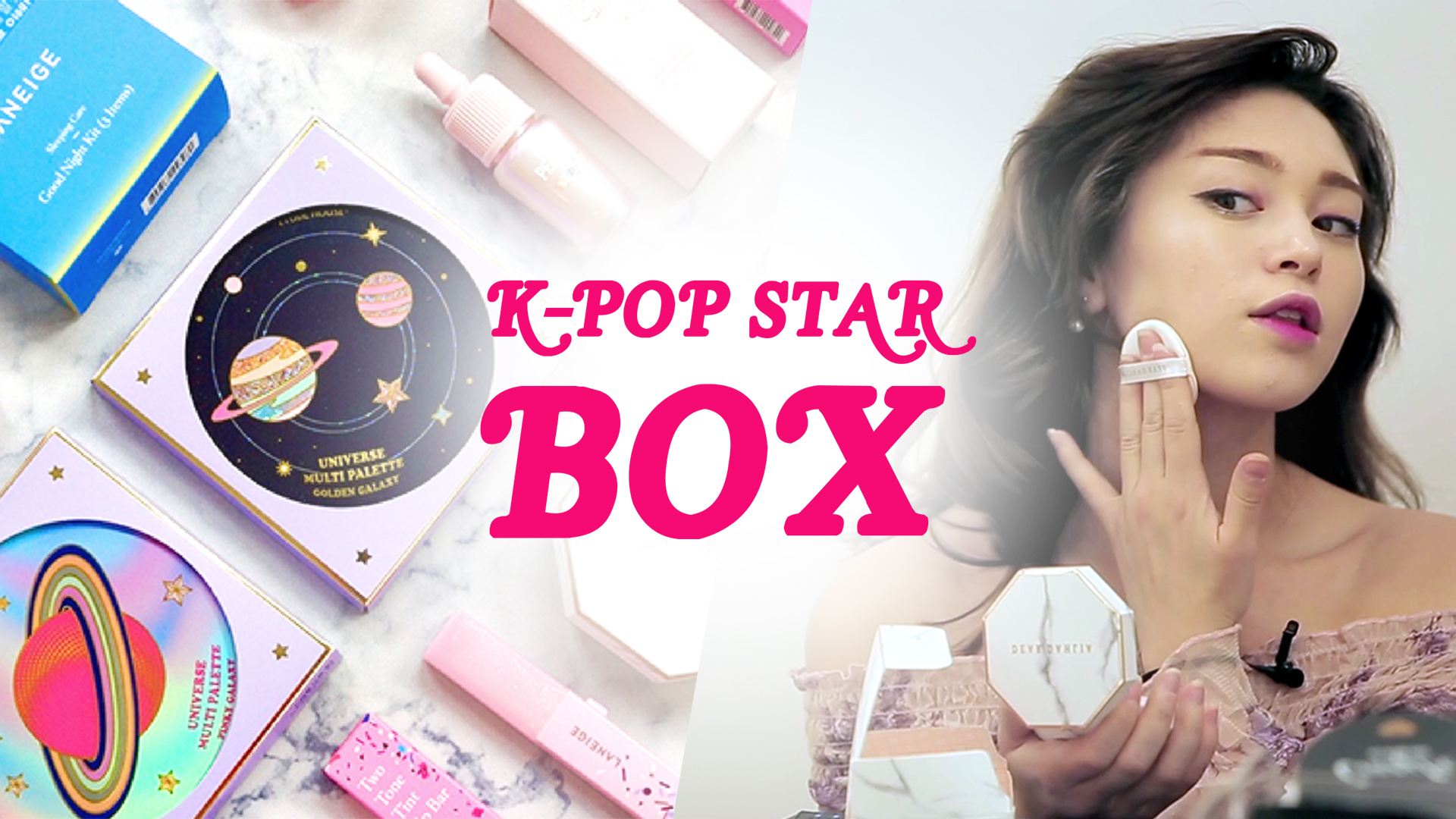 Unboxing The Ultimate K-pop Star Essential Box With Alex Christine: LEGENDARY: Making of a K-Pop Star